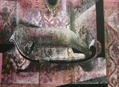 """Currier Collections Online - """"The Pink Sofa"""" by Fannie Hillsmith"""