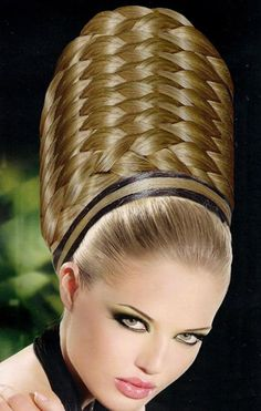 Some of the most artistic and unique hairstyles ever! Wacky Hair, Avant Garde Hair, Extreme Hair, Editorial Hair, Fantasy Hair, Creative Hairstyles, Unique Hairstyles, Hair Shows, Crazy Hair