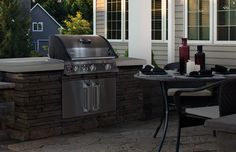 Great outdoor project for enclosing our grill!