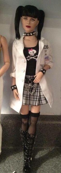 Punk fashion doll
