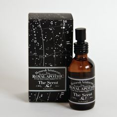 Royal Apothic | The Scent No. 1  man smell :)