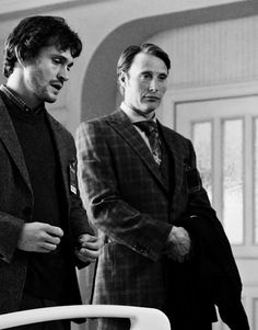 Will Graham and Hannibal Lecter / NBC series