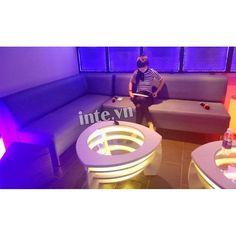 Ghế sofa đẹp dành cho quán karaoke