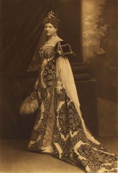 The Duchess of Buckingham and Chandos as Caterina Cornare, Queen of Cypress. Devonshire House