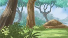Imagination Art work of forest :)