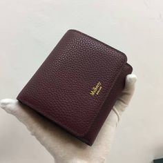 #Mulberrywallet2017#2017 A/W Mulberry Small Continental French Purse burgundy
