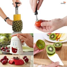 Simple solutions for all our fruit lovers. Check out all axka kitchen solutions