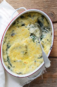Colcannon Idaho® Potato and Kale Casserole ...Use nondairy butter, milk, and cheese.