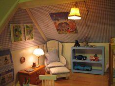 Mine dukkehuse: Jeppes drengeværelse