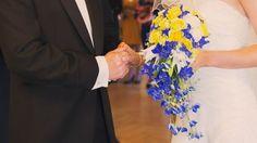 Kollased ja sinised toonid sobivad hästi kokku!- Pruutpaar OÜ