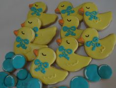 Rubber Duck Cookies, by Flour De Lis