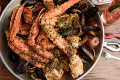 Boiled Seafood Dishes, Best Seafood Restaurant New Orleans, LA Cajun Seafood Boil, Seafood Boil Recipes, Louisiana Seafood, Cajun Recipes, Seafood House, Best Seafood Restaurant, Cajun Dishes, Seafood Dishes, Boil In A Bag Recipes