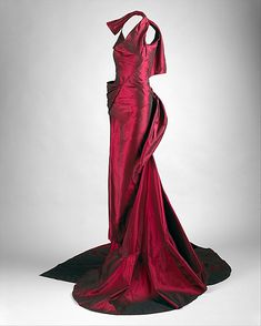 Dior Evening Dress - SS 2010 - House of Dior (French, founded 1947) - Design by John Galliano (British, b. 1960) - Silk - @~ Watsonette