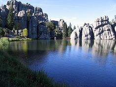 Lake Sylvan, South Dakota. One of my favorite places in the United States. http://www.sturgismotorcyclerally.com/