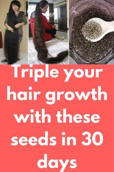 Triple your hair growth with these seeds in 30 days Today I will show one miracle hair growth remedy which chia seeds. Chia seeds contains 23% of protein that helps our hair to grow faster. Copper and Zinc are important minerals which are found in chia seeds. Copper helps in cutting down thinning of hair while zinc helps in repairing damage and preventing scalp infections. Part from …