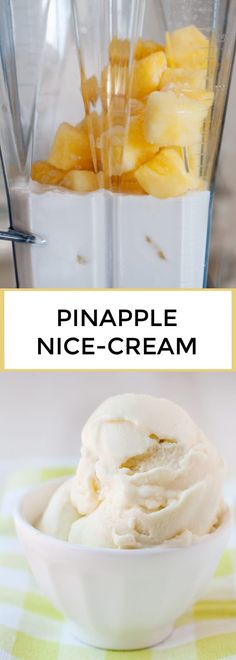 This Pineapple Whip Ice Cream is my copycat version of the Dole Whip recipe we ate at Disney but made at home. Homemade, with just 3 ingredients, and a lot less sugar, this will make magic at home guaranteed. Pineapple Ice Cream, Frozen Pineapple, Crushed Pineapple, Whipped Coconut Milk, Canned Coconut Milk, Dole Whip Recipe, Frozen Desserts, Frozen Treats, Ideas