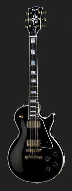 Gibson Les Paul Custom A dream! Les Paul Custom, Gibson Les Paul Sunburst, Gibson Les Paul Black, Black Les Paul, Les Paul Black Beauty, Gretsch, Epiphone, Music Guitar, Cool Guitar