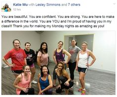 Quick snap of our Zumba Fitness Dragonfly members. Keep up the great work! For more info on Zumba click here - http://dragonflyhealthfitness.com/services/group-fitness/ #dragonlfyhealth #dragonflyzumba