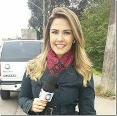 RS Notícias: Larissa Alvarenga, jornalista da TV Record