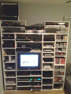 Retro Entertainment Centre - gaming old school!
