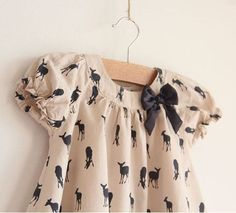 Baby clothes girl blouse shirts tee shirt moose printed with bow knotted free shipping-in Blouses & Shirts from Apparel & Accessories on Aliexpress.com