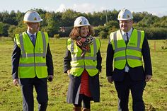 September 2015 UTC South Durham partners at ground breaking