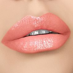 Peachy pink lip gloss perfect for any occasion. Our high shine lip gloss delivers a beautiful pale lip on it's own or pair with any matte lipsticks for that extra pop. Lipsense Lip Colors, Lip Gloss Colors, Pink Lip Gloss, Lip Colour, Color Durazno, Pale Lips, Lipstick Art, Lipstick Shades, Lipstick Colors