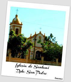 Iglesia de Santani - Dpto san pedro