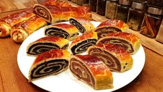 Hungarian Poppy seed and Walnut Roll - Beigli / Szoky's Kitchen My Recipes, Cake Recipes, Dessert Recipes, Favorite Recipes, Hungarian Recipes, Christmas Baking, Food To Make, Healthy Snacks, Food And Drink