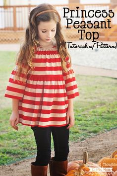 Free Tutorial : Girls Top
