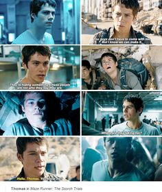 #TheScorchTrials - Thomas