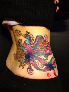 Risorge dalle ceneri piu' bella  e colorata che mai..la fenice! Simbolo di rinascita. Tattoo artist: Valentina Sala  Tatuaggio a colori http://www.subliminaltattoo.it/prodotto.aspx?pid=09-TATTOO&cid=18  Max Signorello Tattoo Supply  #subliminaltattoofamily   #valentinasala   #fenice   #tatuaggio   #tattooartist   #tattoo   #colortattoo
