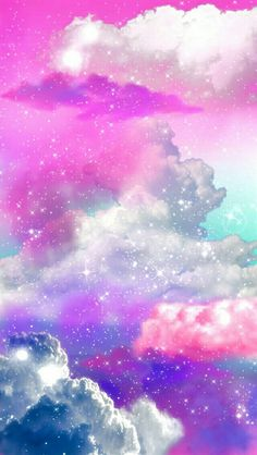 Art Cute Kawaii Sky Design Space Galaxy Pink Clouds Pastel Digital Cloud Arte Photography Astronomy Galaxies Cosmic Bubb