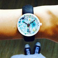 Le mie illustrazioni per gli orologi J-watch Watercolour by Ju'sto!