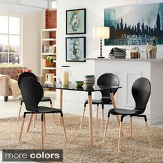Shop for Path Beech Wood Dining Mid-century Style Chair (Set of 4). Get free shipping at Overstock.com - Your Online Furniture Outlet Store! Get 5% in rewards with Club O!