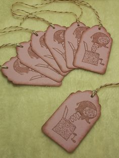 Items similar to Scrapbook Piece Set of Very Adorable Elephant Out of the Box Vintage Inspired Scrapbooking Hang Tags on Etsy Handmade Tags, Hang Tags, Dog Tag Necklace, Vintage Inspired, Elephant, Scrapbook, Trending Outfits, Unique Jewelry, Inspiration