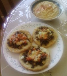 Fatayer-Middle Eastern Mini Pizzas - Tried and True Eats: appetizer