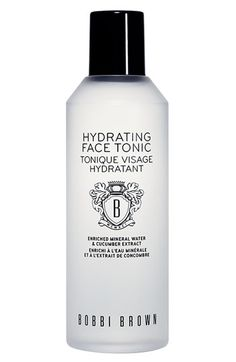 Bobbi Brown Hydrating Face Tonic.  Smells just like Burke Williams...My 10 seconds at the spa every morning.