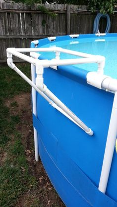 PVC Tray Holder For Intex Metal Frame Pool  .to make.