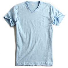 T-shirt-Gola-V-Flame-Azul-Royal-Claro