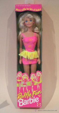 I got this Barbie as a prize at VBS when I was little Mattel Barbie, Barbie Y Ken, Barbie 1990, Vintage Barbie Dolls, Vintage Toys, Ever After High, Childhood Toys, Childhood Memories, Daycare Themes