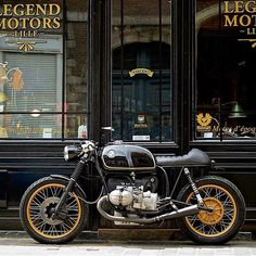 BMW R100 by Legend Motors @legend_motors David Coppieters @davidcoppieters…