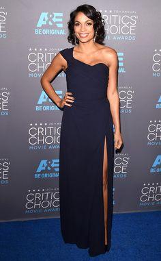 Rosario Dawson from 2015 Critics' Choice Movie Awards | E! Online
