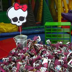 Monster High Birthday Party Ideas | Photo 1 of 23 | Catch My Party