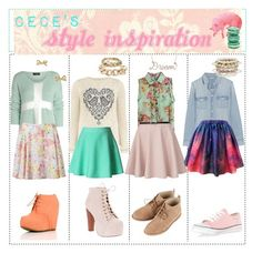 """""""Cece's Style Inspiration"""" by tipsters-and-we-know-it ❤ liked on Polyvore featuring AX Paris, Forever New, Dorothy Perkins, J.Crew, Jeffrey Campbell, Topshop, Kate Spade, River Island, CC SKYE and Miss Selfridge"""