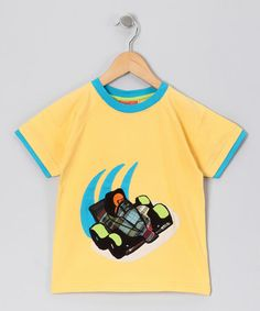 Take a look at this Yellow Formula One Tee - Infant & Toddler by CRugged on #zulily today!