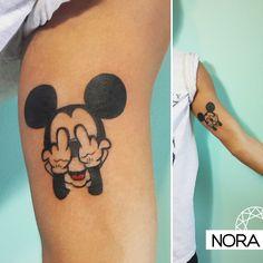 Mickey #mickeytattoo #mickeymouse #disney #armtattoo #tattoo #tatuaje #tattoos #iristattoo #palermo #buenosaires #argentina