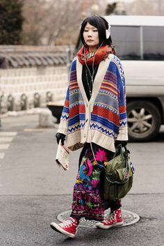 The Sartorialist: On the Street…..Dosan Park, Seoul
