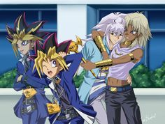 I Can't Think of Anything, So Let's Hit Yugi by Shaami.deviantart.com on @DeviantArt