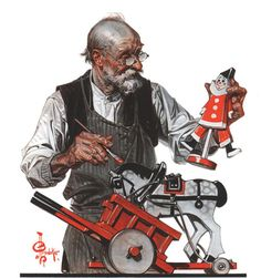Toymaker - JC Leyendecker, 1920 on Flickr.